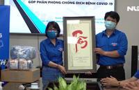 Chi đoàn Báo Người Lao Động cùng Chi đoàn Văn phòng Cơ quan LĐLĐ TP HCM chống dịch
