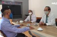 Trao tặng 3 bộ máy vi tính và 3 bộ máy in cho Bệnh viện Nguyễn Tri Phương