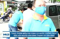 """""""Thực phẩm miễn phí cùng cả nước chống dịch"""" đến với người dân Bình Thạnh và Tân Bình"""