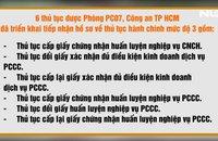 Ứng dụng công nghệ vào nghiệp vụ PCCC phục vụ người dân trong mùa dịch