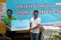 VP Milk hỗ trợ 1.000 thùng sữa cho lực lượng phòng chống dịch và người nghèo