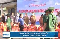 Trao thêm 1.000 lá cờ Tổ quốc cho ngư dân Quảng Nam