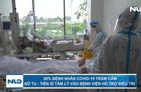 Nhiều bệnh nhân Covid-19 trầm cảm, nữ tu - tiến sĩ tâm lý vào bệnh viện hỗ trợ điều trị