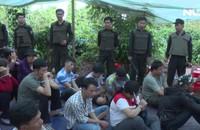 Hàng trăm cảnh sát vây bắt ổ bạc, 100 đối tượng chạy tán loạn