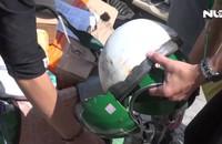 Ván công trình xây dựng rơi trúng đầu người đi đường, 1 người nhập viện