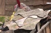 Lốc xoáy thổi bay 49 mái nhà dân ở Quảng Bình