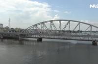 Cầu đường sắt Bình Lợi mới sắp hoàn thành