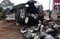 Tạm giữ tài xế xe gây tai nạn thảm khốc làm 5 người chết ở Đắk Nông