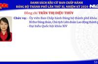 Công bố 61 uỷ viên BCH Đảng bộ TP HCM nhiệm kỳ 2020-2025