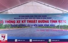 Hậu Giang thông xe kỹ thuật đường tỉnh 927C