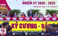 Bế mạc Đại hội Đảng bộ tỉnh Quảng Nam