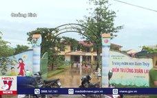 Quảng Bình tập trung khắc phục hậu quả do mưa lũ