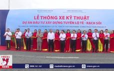 Thông xe kỹ thuật tuyến đường Lộ Tẻ - Rạch Sỏi