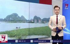 Mưa lũ gây ngập lụt tại Ninh Bình