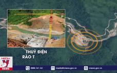 Thủy điện Rào Trăng 3 từng bị cảnh báo về nguy cơ sạt lở