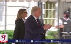 Tổng thống Mỹ vẫn điều hành công việc khi cách ly