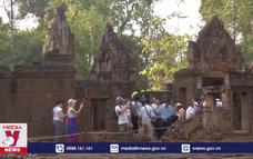 Doanh thu bán vé di sản thế giới Angkor giảm mạnh