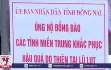 Đồng Nai phát động ủng hộ đồng bào miền Trung