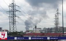 Dập tắt vụ cháy trong KCN Bình Chiểu (Thủ Đức)