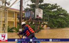 Điện lực Quảng Bình khẩn trương cấp điện sau lũ