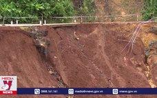 Khắc phục sạt lở tuyến đường nối Bình Phước - Lâm Đồng
