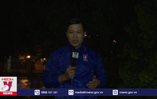 Quảng Ngãi: Một số địa phương mưa to, gió giật mạnh