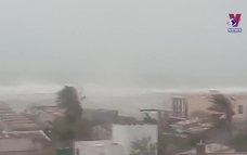 Thông tin bão số 9 tại huyện đảo Lý Sơn, Quảng Ngãi