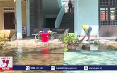 Kiểm tra khắc phục hậu quả bão số 9 tại Quảng Ngãi
