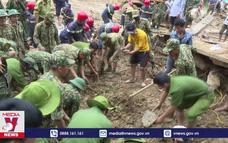Tích cực tìm kiếm nạn nhân mất tích tại Trà Leng
