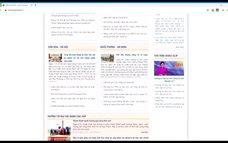 Khai trương Cổng thông tin điện tử tỉnh Đảng bộ tỉnh Tuyên Quang