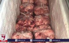 Đồng Nai tiêu hủy hàng tấn sản phẩm thịt lợn đã bốc mùi hôi thối