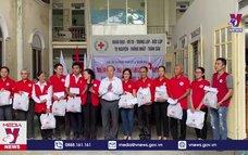 Thừa Thiên – Huế tiếp nhận cứu trợ từ Hội Chữ thập đỏ Việt Nam