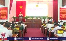 Bầu Chủ tịch HĐND, UBND tỉnh Hậu Giang