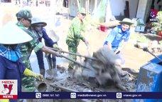Phú Yên khắc phục thiệt hại cơn bão số 12 và mưa lũ