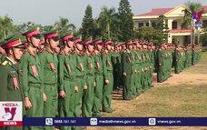 Khai giảng khóa đào tạo sĩ quan cấp phân đội trình độ đại học