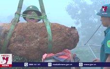 Hòa Bình hủy nổ quả bom 300kg bị sót lại sau chiến tranh
