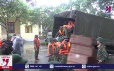 Hỗ trợ người dân Nghệ An khắc phục hậu quả mưa lũ