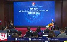 Diễn đàn Trí thức trẻ Việt Nam toàn cầu lần thứ III