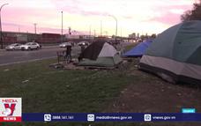 Người vô gia cư đối mặt với mùa đông khắc nghiệt