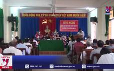Đoàn ĐBQH Phú Yên tiếp xúc cử tri sau kỳ họp