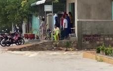 Mưa lớn gây ngập lụt vùng trũng thấp ở Ninh Thuận
