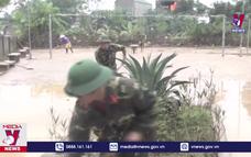 Quân khu 4 hỗ trợ Nghệ An khắc phục hậu quả lũ lụt