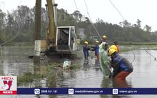 Điện lực Quảng Nam khôi phục cấp điện sau bão