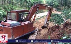 Bình Định khắc phục sạt lở các tuyến đường miền núi