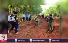Phát hiện 15 hài cốt liệt sỹ tại biên giới giáp Campuchia