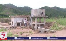 Nhiều công trình thủy lợi Phú Yên hư hỏng nặng sau lũ