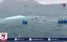 Chìm tàu vận tải ra đảo Lý Sơn