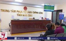 Hiệu quả từ Trung tâm hành chính công tỉnh Nam Định