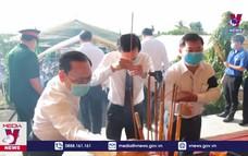 Truy điệu, an táng 262 hài cốt liệt sĩ hy sinh trên chiến trường Campuchia