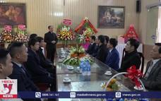 Nam Định chúc mừng đồng bào công giáo dịp Giáng sinh